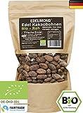 Edelmond rohe Bio Kakaobohnen. Frischware. Echtes Fair Trade von der kleinen Kakaofinca. Top Edel-Schokoladen Bohne ohne Insektizide. 1000g