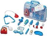 Deceny CB Arztkoffer Set Doktor Spielzeug Arzt Spielset für Kinder Arztköfferchen Set Doktorkoffer Spielzeug (Blau)