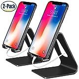 Handy Ständer, 2Pack Fynix Dock Schreibtisch Handyhalterung Halter Handy Phone Ständer Für iPhone X / 8 / 7, 7 Plus 6s 6 / Plus, Samsung,Huawei, Tisch Zubehör, E-Reader, andere Smartphone