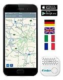 Musegear Schlüsselfinder mit Bluetooth App I Keyfinder laut für Handy in weiß I GPS Ortung / Kopplung I Version 2 I Schlüssel finden