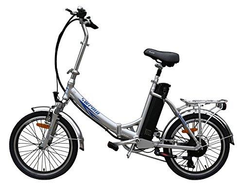 20 Zoll SWEMO Alu Klapp E-Bike / Pedelec SW200 Neu (Silber)
