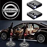 Türbeleuchtung Definition Autotür Projektion LED-Türschatten-Logo Licht (für Nissan)