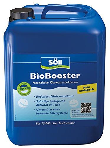Söll 14422 BioBooster - Hochaktive Klarwasserbakterien beseitigen erhöhte Nitrit- und Nitratwerte - 2,5 l