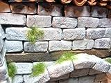 250 rechteckige Ruinen-Bausteine für Krippenbau und andere