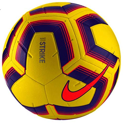 Nike Unisex- Erwachsene Strike Team Fußball, hi vis Yellow pur/crim, 4