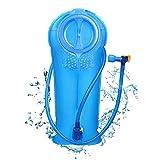 Unigear Trinkblase, 2L, 2,5L, 3L Hydration Blase staubdichte und antimikrobielle Hydration Bladder Wasserblase Trinkbeutel Wassertank mit Schlauch ALS Trinksystem MEHRWEG