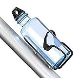 Cocoda Flaschenhalter Fahrrad, Hochwertige Aluminiumlegierung Getränkehalter Fahrrad mit 2 Schrauben für 500-1000ML Flasche, Haltbarer Leichtgewichtiger Becherhalter Fahrrad Ideal für Radfahren