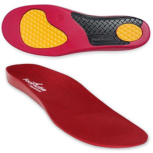 FootActive WORKMATE - Ideal für Alltag und Beruf - Schützt Ihre Füße auf harten Oberflächen - 44 - 46 (L)