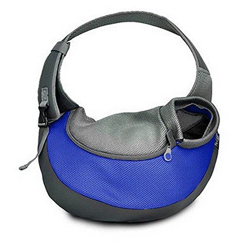 BIGWING STYLE Transporttasche für kleine Hundekatze -Haustier-Umhängetasche für Transporter Kleintier Leinentaschen