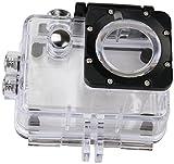 Rollei Unterwassergehäuse für Rollei Actioncam 372 / 510 / 610 / 525 / 625 - wasserdicht für Tauchtiefen bis zu 40 Meter - Transparent