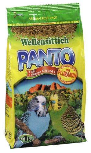 Panto Wellensittichfutter, 5er Pack (5 x 1 kg)