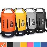 Blackace Dry Bag - Waterproof trockener Beutel/Sack Wasserdichte Tasche mit Langem justierbarem Bügel für Kayaking Boots-Ausflug Kanu/Fischen/Rafting/Schwimmen/Snowboarding