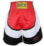 BENLEE Rocky Marciano Box Shorts Dempsey, Rot/Schwarz/Weiß, XL