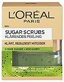 L'Oréal Paris Sugar Scrubs Gesichtsmaske mit Kiwi-Samen, Klärendes Peeling, 1er Pack (1 x 50 ml)