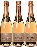 Bouvet-Ladubay Crémant de Loire Rosé Brut Méthode Traditionelle (3 x 0.75 l)