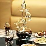 Handgefertigtes Weinschlürf-Set mit mit vier Schlürf-Gläschen mit eingebautem Glas-Halm von bar@drinkstuffippers, zum Ausprobieren, Testen und Schlürfen von Portwein