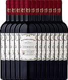 12er Paket - Doppio Passo Primitivo Salento IGT 2017 - CVCB | halbtrockener Rotwein | italienischer Wein aus Apulien | 12 x 0,75 Liter
