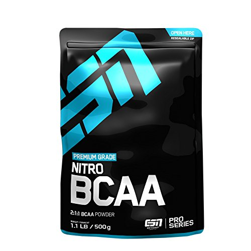 ESN Nitro BCAA Powder, Raspberry Iced-Tea, 500g