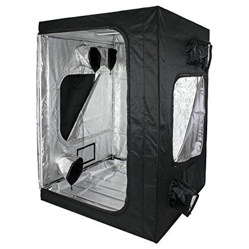 Cultivalley Growbox 150x150x200cm 98% Reflexionsgrad Lichtdicht und Wasserdicht
