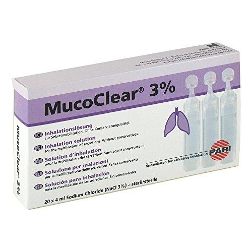 Mucoclear 3 % Inhalationslösung Ampullen, 20 St.