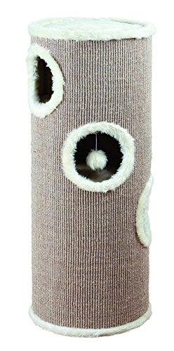 Trixie 4338 Cat Tower, ø 40 cm/100 cm, braun/beige
