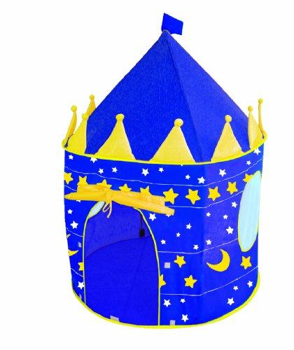 roba Spielzelt, Kinderzelt 'Mond und Sterne', Spielhaus aus Stoff, inkl. Tasche