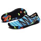 Sykooria Surfschuhe Herren Damen Neoprenschuhe Trekking Schuhe Leicht Schnell Trocknend Draussen Sommer Sport Fahren Surfen Strand Aquaschuhe Badeschuhe Unisex 46