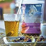 Happy Horse Mash & Teatime   14 kg bestes Mash für Pferde + 7 x 9 g Tee   Weltneuheit - der Vitaltee für Pferde und Menschen zum gemeinsamen Genießen