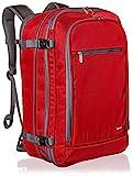 AmazonBasics - Reiserucksack, Handgepäck, Rot