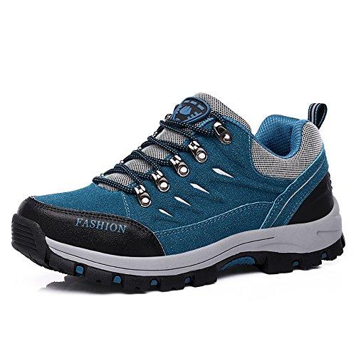 Easondea Herren/Damen Wanderschuhe Wanderstiefel Unisex Trekking Schuhe Outdoor Walking Schuhe Gleitsicher Stiefel mit Perfekter Dämpfung Dicker Size 36-44