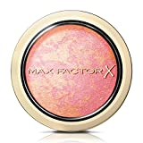 Max Factor Compact Blush Lovely Pink 5 - Marmoriertes Rouge für den perfekten Glow - Multitonales Puder Blush - Farbe Rot-Pink - 1 x 2 g