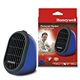 Honeywell HCE100RE4 Mini-Heizgerät, blau, HCE100LE4