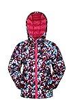 Mountain Warehouse Seasons Kinder wasserdicht Gefütterte Jacke - Isolierter Winterjacke, wasserabweisend, Seitentaschen - Ideal zum Wandern, Schule leuchtendes Pink 128 (7-8 Jahre)