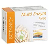 MULTI ENZYM forte mit DigeZyme - Einzigartige Kombination von Verdauungsenzymen für eine bessere Vedauung und ein stabiles Immunsystem - 60 vegane Kapseln (Monatspackung)