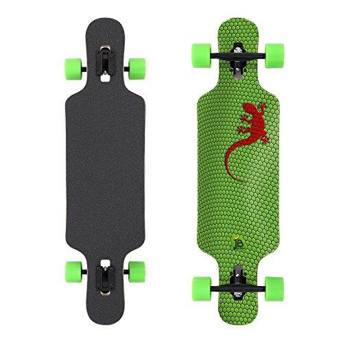 Jan Banan Longboard Cruiser Design Gecko 8.5 x 42 inch