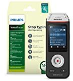 Philips Voicetracer Audiorecorder DVT2810 mit Dragon- Spracherkennungssoftware