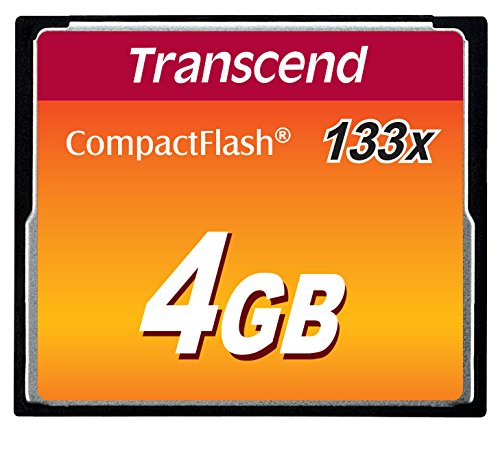 Transcend 4GB CompactFlash CF MLC 133x