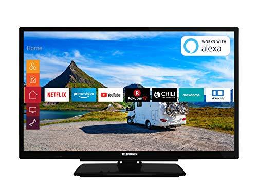 Telefunken XH24G501V 61 cm (24 Zoll) Fernseher (HD-ready, Triple Tuner, Smart TV, Prime Video, 12 Volt)