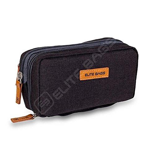 Isotherme-Tasche für Diabetiker | Diabetic's | Elite Bags | Schwarzen Farben | Für Insulininjektionsgeräte und Blutzuckermessgeräte