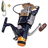 BNTTEAM 11BB Vorderes und hinteres Bremssystem Einwegkupplungsgröße 1000-7000 Vollmetallspule Spinnerei P66 Fischenspule Karpfenfischgerät Spinnrolle Pesca (Serie 5000)
