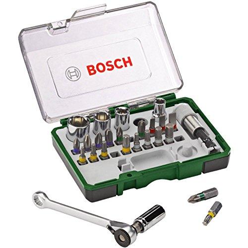 Bosch DIY 27tlg. Schrauberbit- und Ratschen-Set