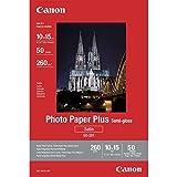 Canon SG-201 Fotopapier Plus Seidenglanz, matt (260 g/qm), 10 x 15 cm, 50 Blatt
