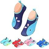 Badeschuhe Wasserschuhe Strandschuhe Mädchen Jungen Schwimmschuhe Barfußschuhe Surfschuhe Kinder Baby Aqua Schuhe,Blau 22