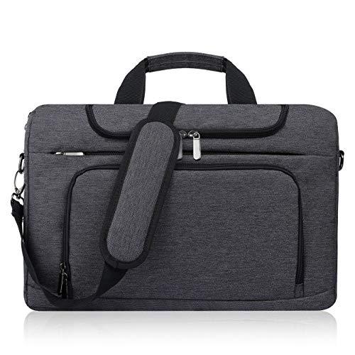 Bertasche Laptoptasche 17 Zoll / 17,3 Zoll Notebooktasche Wasserdicht Schulter Tasche für Uni Arbeit Business