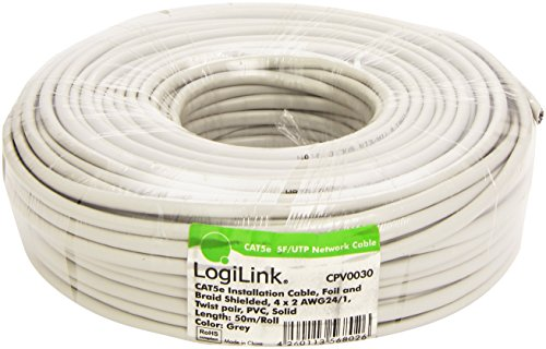 LogiLink CAT 5e Installationkabel SFTP, 50 m