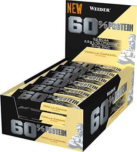 Weider - 60% Protein Bar 24 x 45g Riegel Milchschokolade