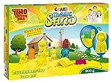 Craze 53158 - Magic Sand Bauernhof-Set., ca. 800g Sand