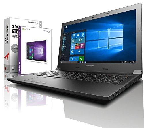 Lenovo (15,6 Zoll HD) Notebook (AMD A4-9125 2x2.6 GHz, 8GB DDR4 RAM, 1000GB HDD, Radeon R3, HDMI, Webcam, Bluetooth, USB 3.0, WLAN, Windows 10 Prof. 64 Bit, MS Office 2010 Starter) #6146