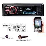 Creasono Autoradio Digital: MP3-Autoradio mit DAB+, Bluetooth, Freisprecher, USB & SD, 4X 50 Watt (Kfz-Autoradio)