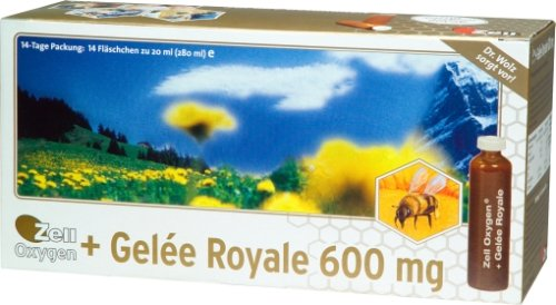 Dr. Wolz Zell Oxygen + Gelee Royale 600mg, 14x 20ml Ampullen